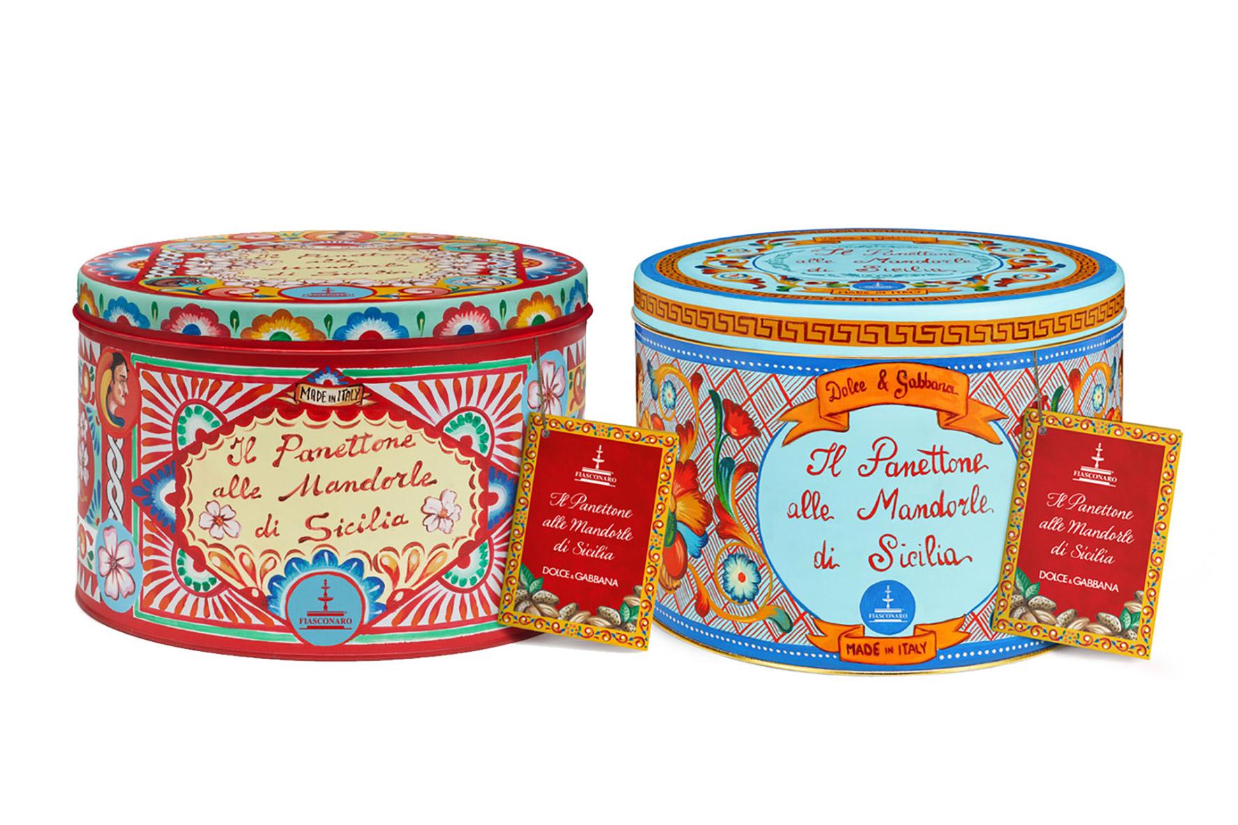 Il panettone alle Mandorle di Sicilia | Dolce & Gabbana | Fiasconaro